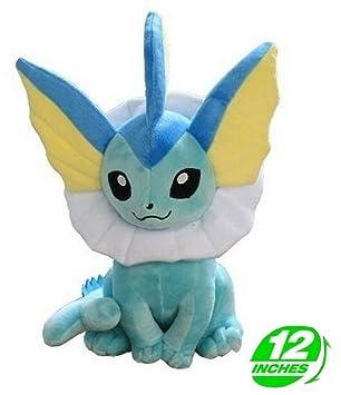 Pokemon Peluche Vaporeon/Aquana/Aquali 30cm