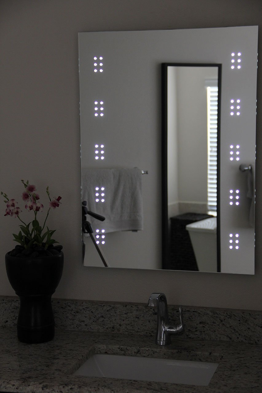 Amazon led backlit mirror home kitchen amipublicfo Gallery
