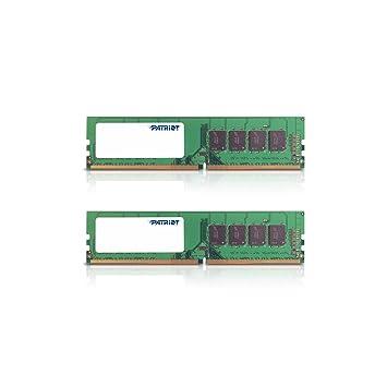 Patriot Signature Line 8 Gb (2 X 4 Gb) Ddr4 Kit Pc4 19200 (2400 M Hz) Cas 16 Psd48 G2400 K by Amazon