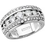 Amoro 18kt White Gold Diamond Ring (1.50 cttw, H Color, VS2 Clarity)