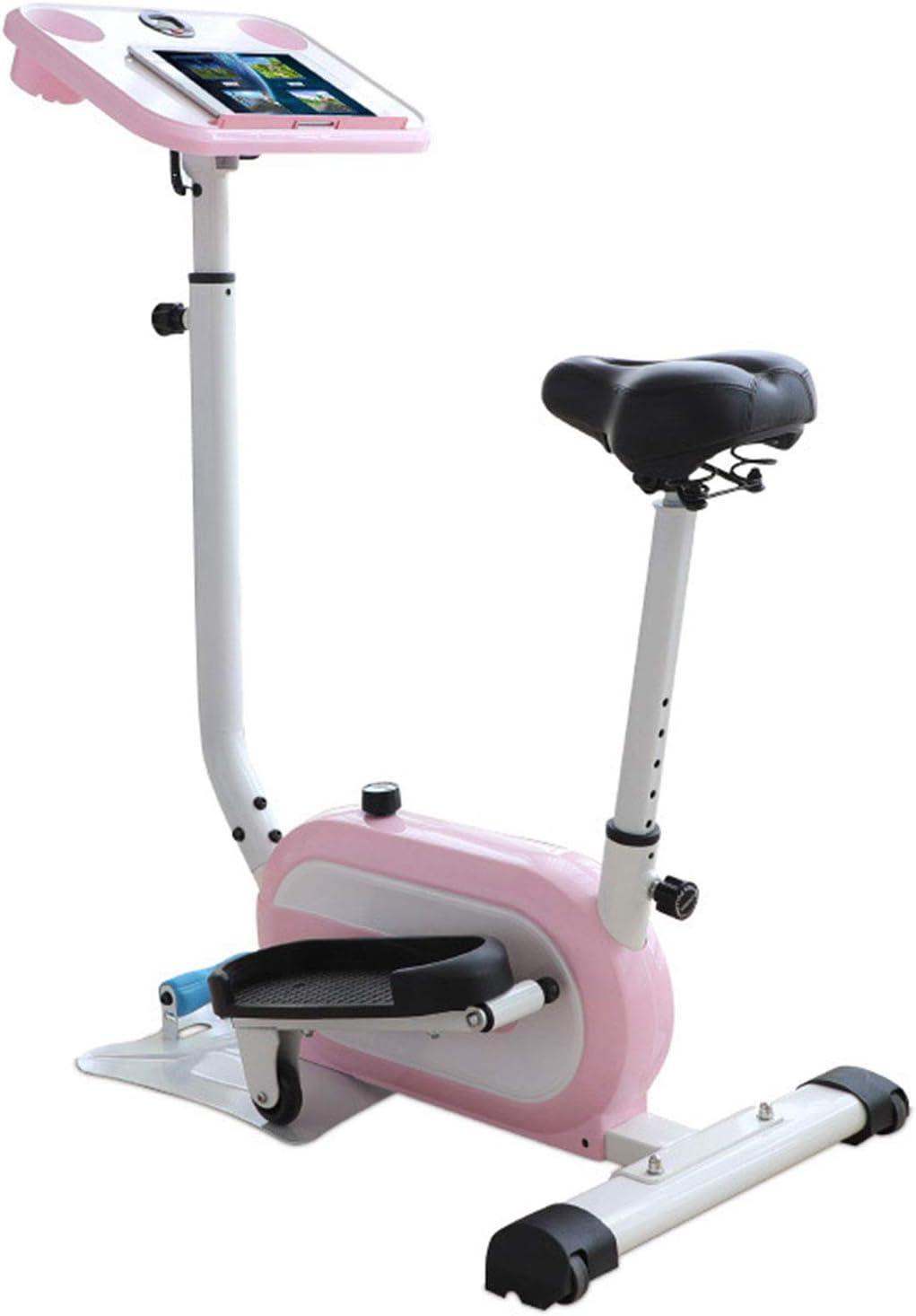 AORISSE Bicicleta Elíptica, Máquina Elíptica Elíptica De Control Magnético Pequeño para Interiores, Equipo De Ejercicios Ajustable para El Hogar con Pantalla LED, Ajuste del Ángulo del Panel 0-90 °