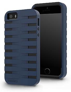 GADGEO iPhone 5 / 5s Carcasa Funda Defender Fuerte Resistente a Impactos Case Cover – Funda Rígida Protectora de Dos Piezas – La Mejor Funda para ...