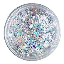 Gracefulvara 0.2g/Box Galaxy Holo Nail Sequins Powder Nail Art Glitter Dust