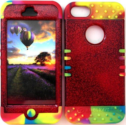 Faceplate Rainbow Glitter - 1