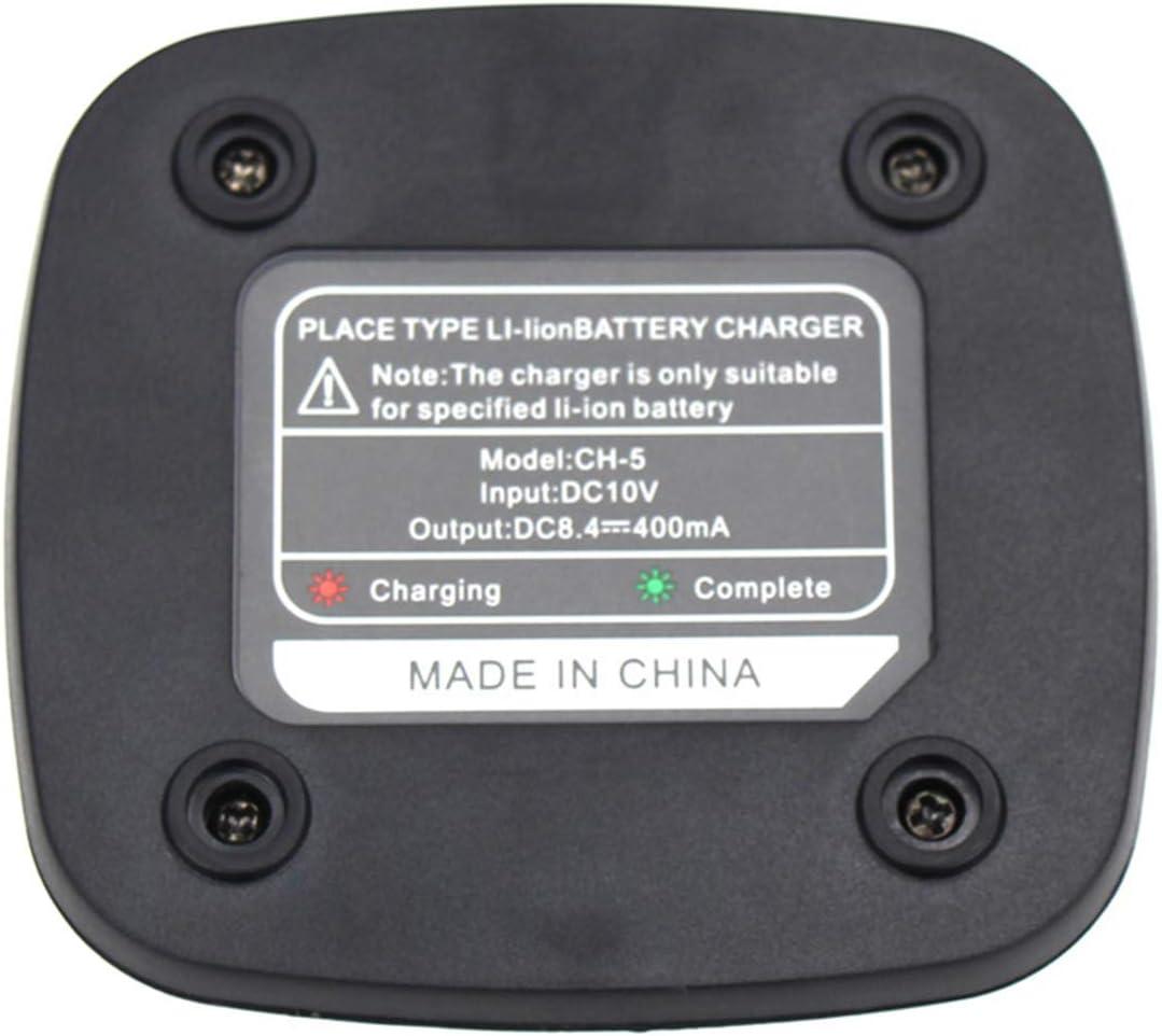 Original Station de Chargeur de Talkie-walkie pour Baofeng GT-3 GT-3TP GT3 GT3TP GT3 Mark-II III Base de Chargement de Batterie Radio Bidirectionnelle