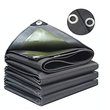 "2M 60/"" Wide Black Waterproof Fabric Canvas Outdoor for Tarpaulin Tent Bag"