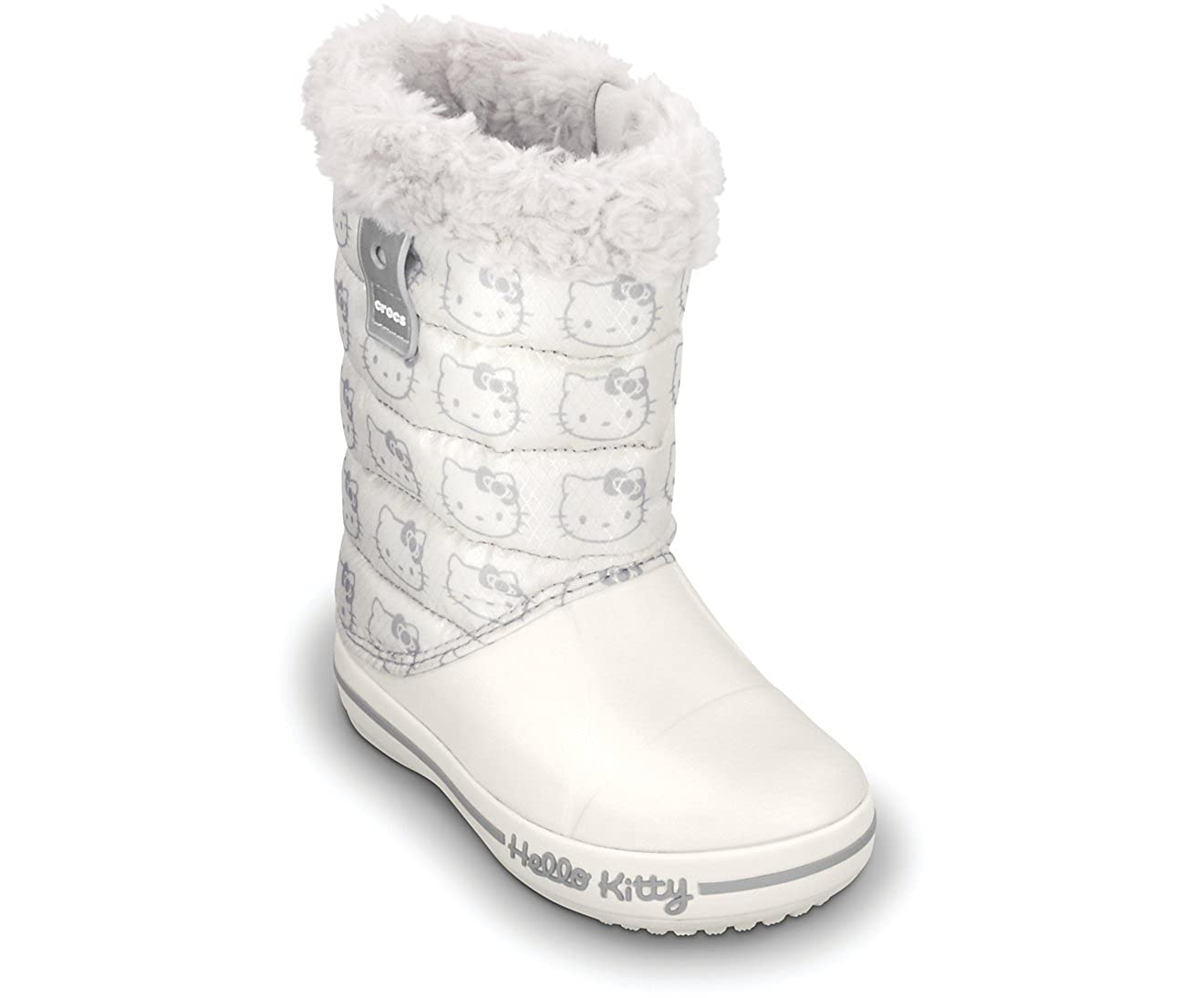 huge selection of a4f72 f5bd6 CROCS Kids - Stiefel HELLO KITTY GUST BOOT - oyster, Größe ...