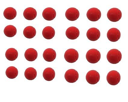 E-Deals - Pelotas de Tenis de Espuma Suave (70 mm, 24 Unidades ...