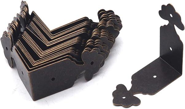 Furniture Case Edge Cover Guard Corner Protectors Box Chest Hardware Decorative