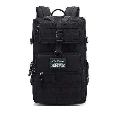 ZOUQILAI Sac à dos détachable multifonctionnel tactique sac à dos grande capacité sac à dos voyage en plein air alpinisme camouflage sac à dos