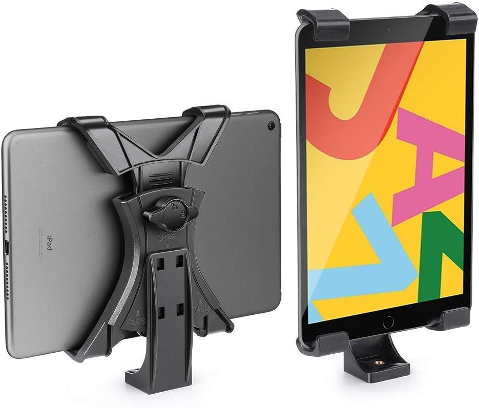 Zeadio Soporte Trípode para iPad, adaptador de abrazadera de ...