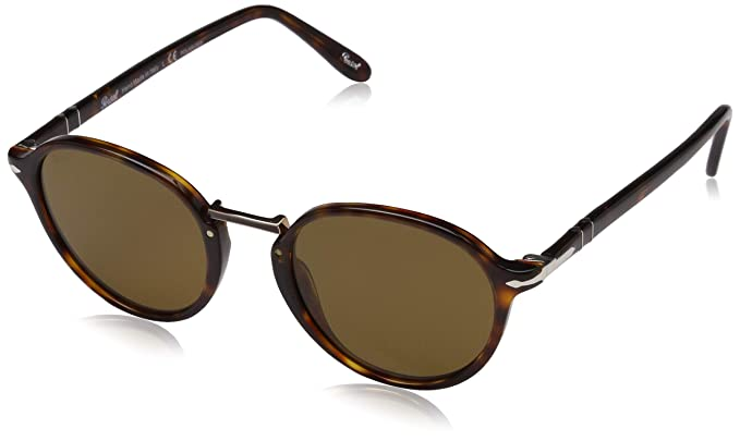 c96317255895d Amazon.com  Persol Men s 0PO3184S Havana Brown Polarized One Size ...