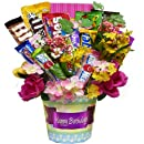 Art of Appreciation Gift Baskets Happy Birthday Candy Bouquet