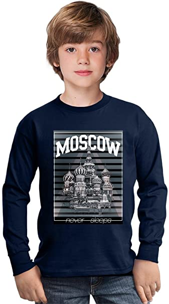 Benito Clothing Moscow Red Square Amazing Kids Long Sleeved Shirt By