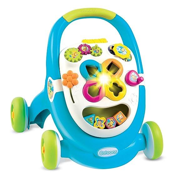 Smoby - Cotoons Trott - Andador para niños - multifunción - Luces ...