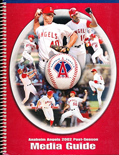 2002 Anaheim Angels Post Season media press Guide