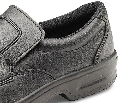 Click Micro-Fibre Slip On Shoe Black - Size 9