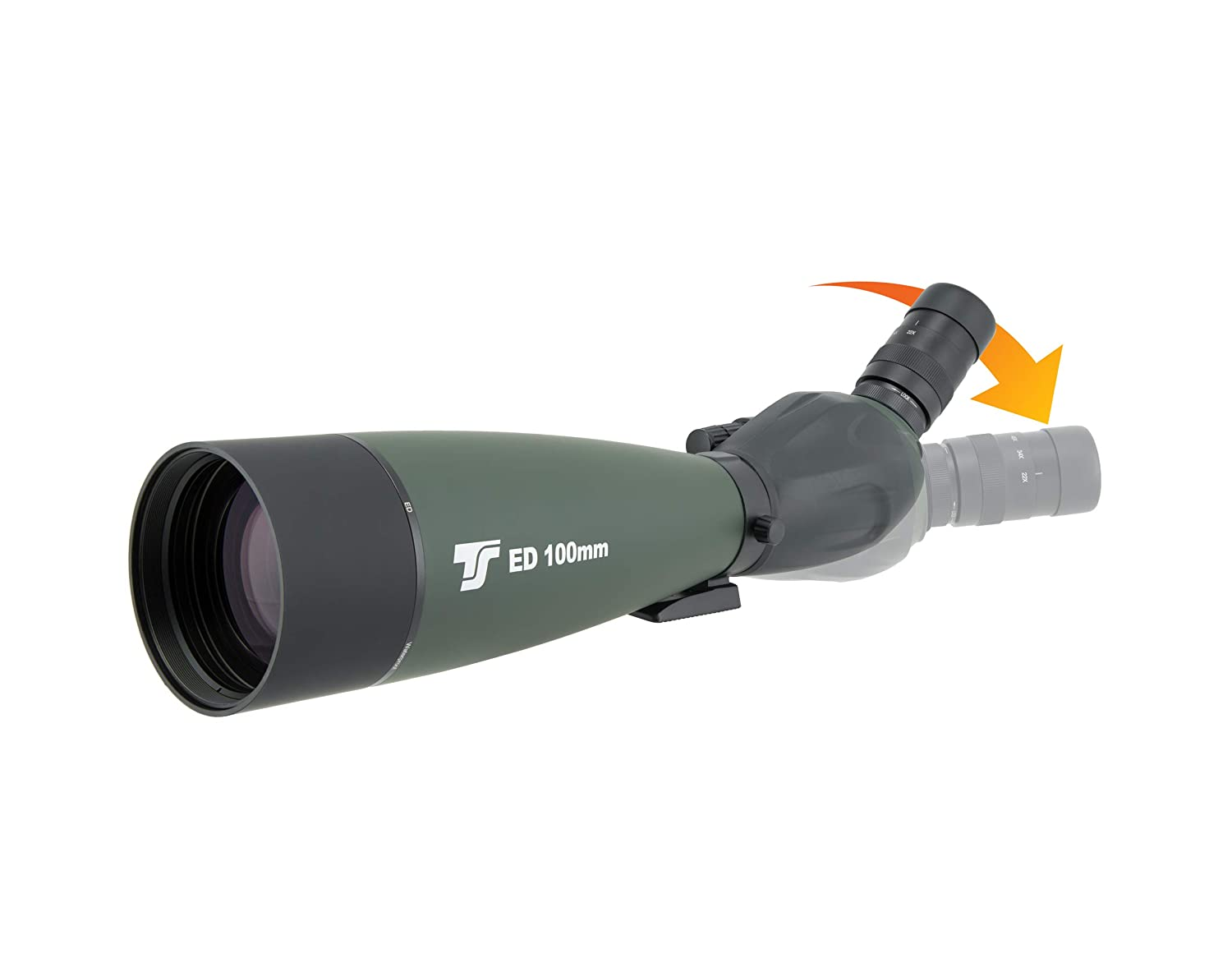 Ts optics final100 spektiv 22 67x: amazon.de: elektronik