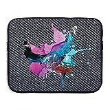 Custom Laptop Sleeve 13/15 Inch Notebook Zipper Briefcase Breaking Hip Hop Print Portable Messenger Bag