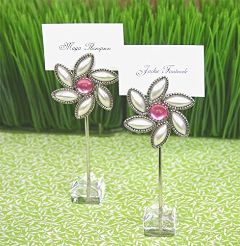72 ''Love Blooms'' Flower Place Card Holders