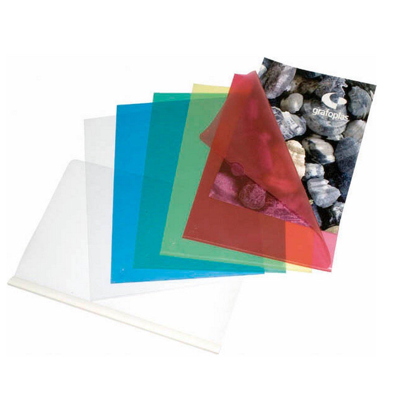 grafoplas 5280070–DOSSIER DIN-A4, Color Transparent