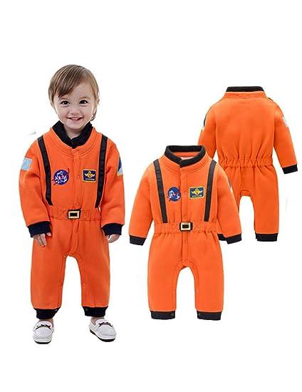 GBYAY Disfraz de Astronauta Traje Espacial Mamelucos para ...