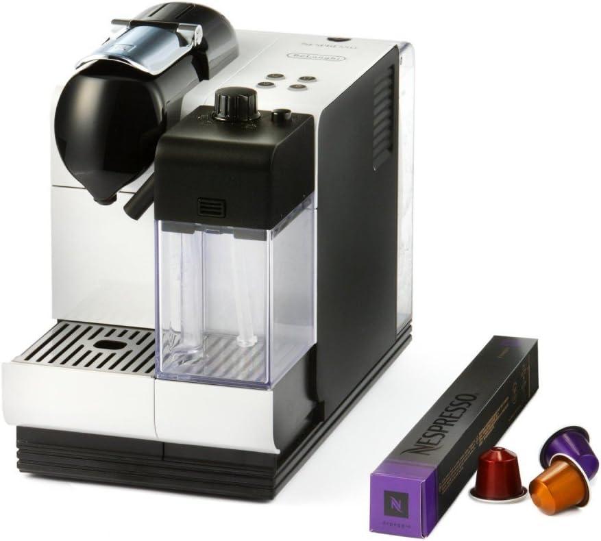 DeLonghi Cafetera Nespresso Lattissimo+ EN 520.W con Depósito de ...