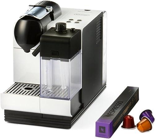 DeLonghi Cafetera Nespresso Lattissimo+ EN 520.W con Depósito de Agua de 1,0 l, Blanco: Amazon.es: Hogar