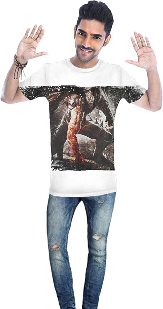 Ninja Gaiden II Ryu Blood Camiseta Unisex XX-Large: Amazon ...