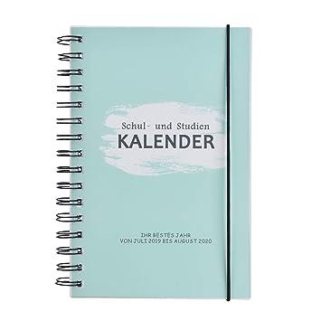 Odernichtoderdoch Sch/ülerkalender 2019//2020 160 Seiten 16,5 x 16,5 cm Ringbindung mit Gummiband Richtig toller Kalender