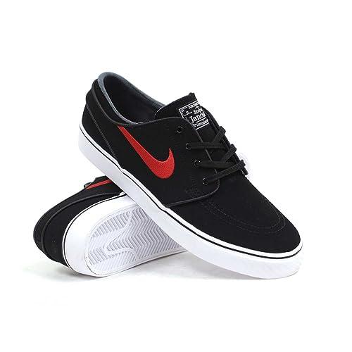 Nike SB Zoom Stefan Janoski (Negro/Rojo Gimnasio Blanco y) Zapatillas de Skate para Hombre: Amazon.es: Zapatos y complementos