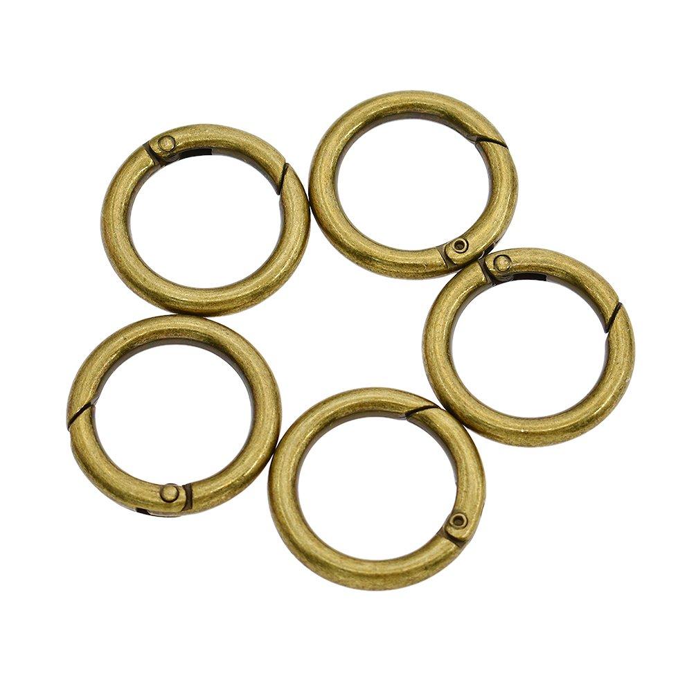 Hongma Trigger Spring O Ring Gurtband Trä ger Snap Clip Karabiner Legierung Mehrfarbig DIY 16mm/20mm/32mm