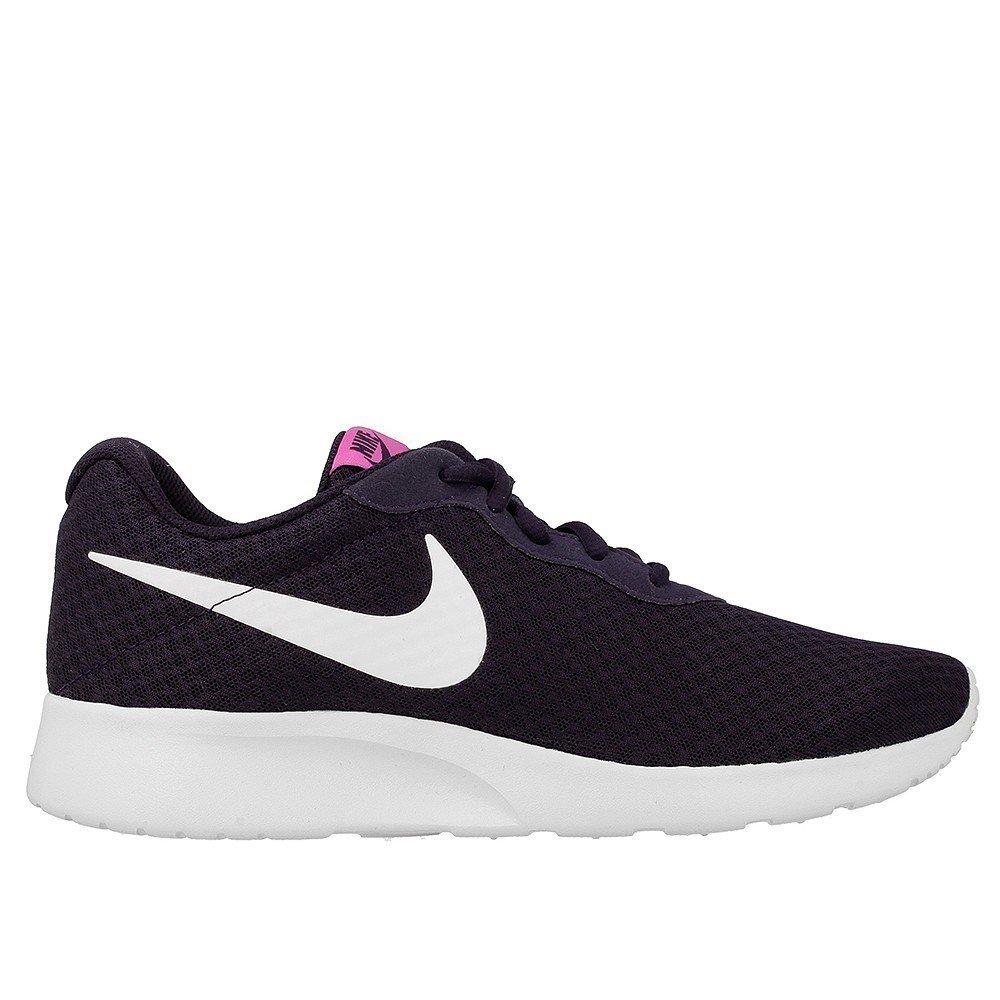 NIKE Women's Tanjun Running Shoes B00KFV0QYY 12 Purple Dynasty/White/Fire Pink