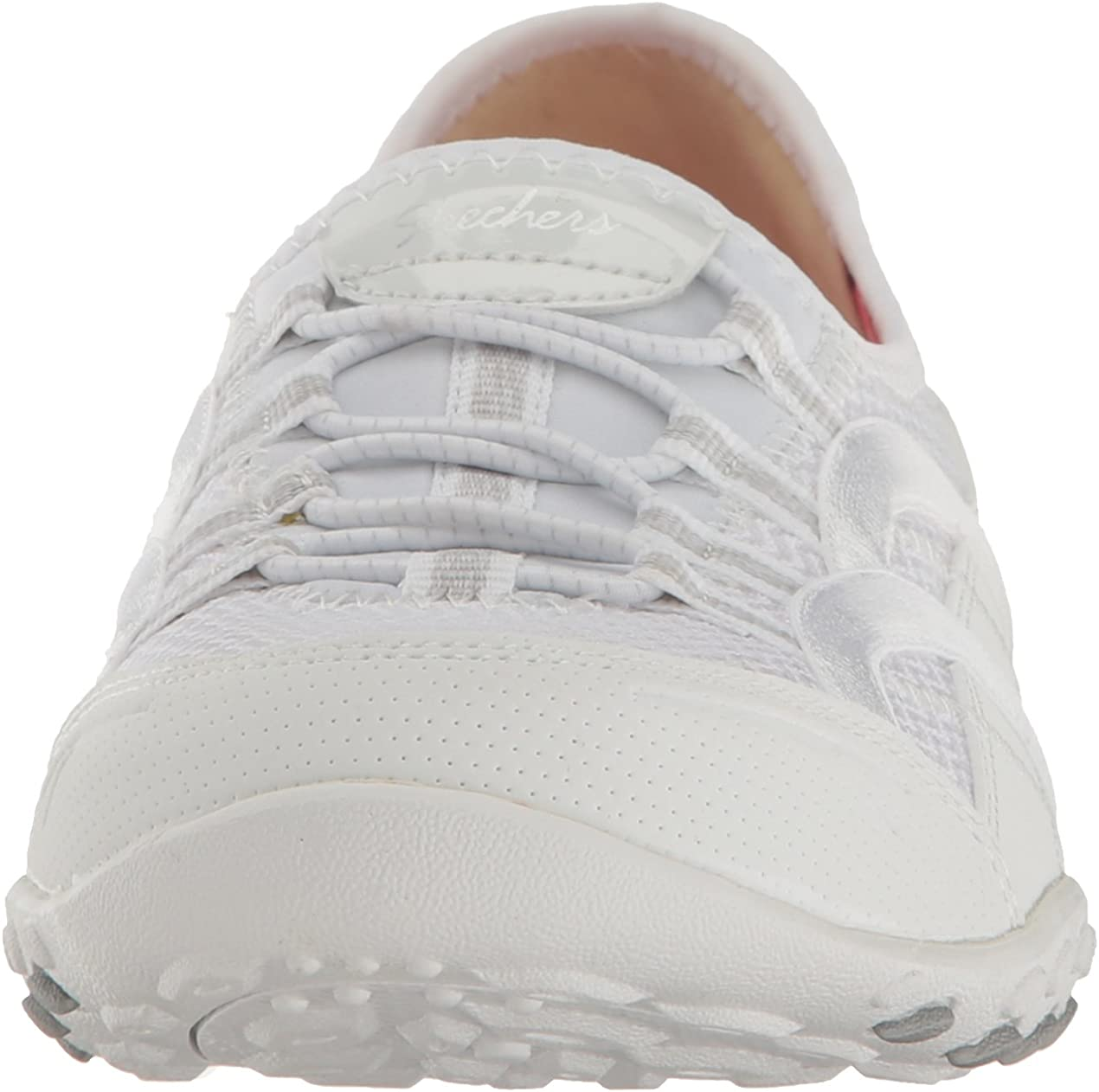Skechers Sport Women's Breathe Easy Faithful Fashion Sneaker White