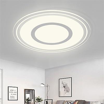 ANGEELEE Plafonnier Led minimaliste moderne et chaleureux salon ...