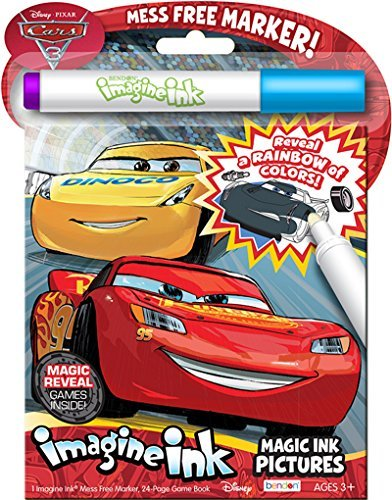 Bendon Disney Pixar Cars 3 Imagine Ink Magic Pictures Activity Book