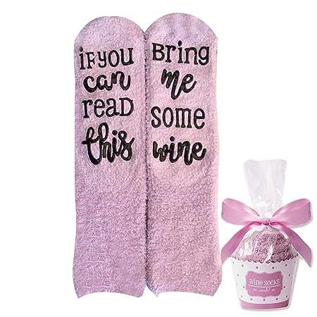 sdgfd Calcetines de Vino, Si Puedes, tráeme un Poco de Vino ...