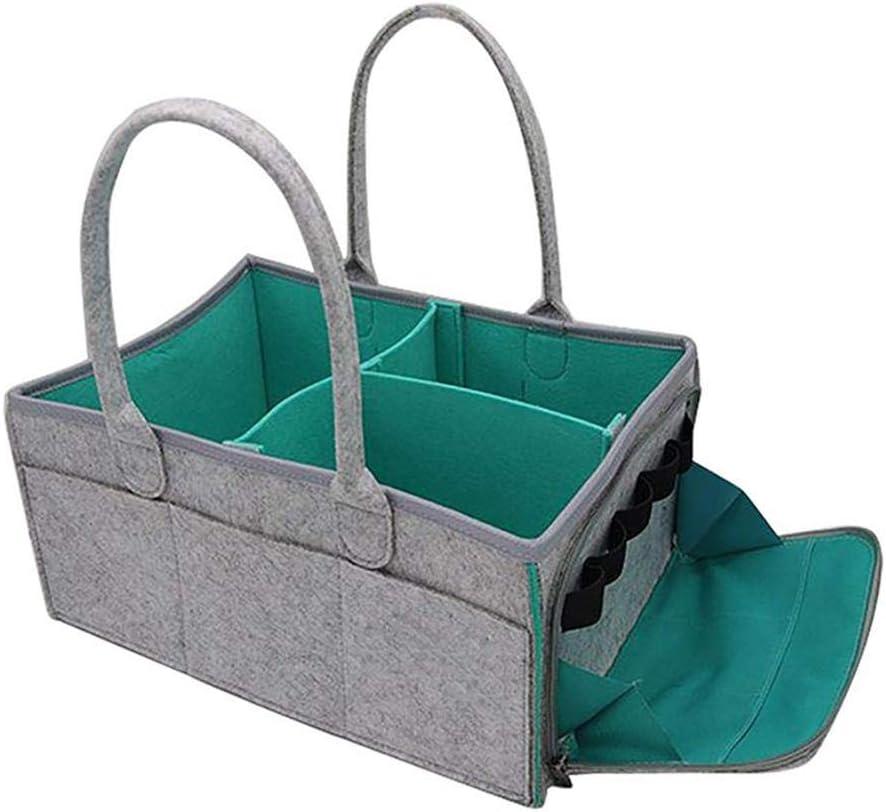 Mackur Baby Windeltasche Faltbare Filz Aufbewahrungstasche Tragbarer Spielzeug Aufbewahrung Bin
