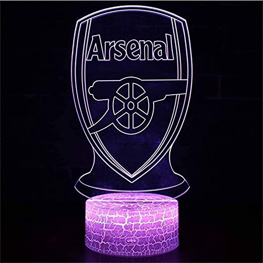Arsenal 3D Football Lamp