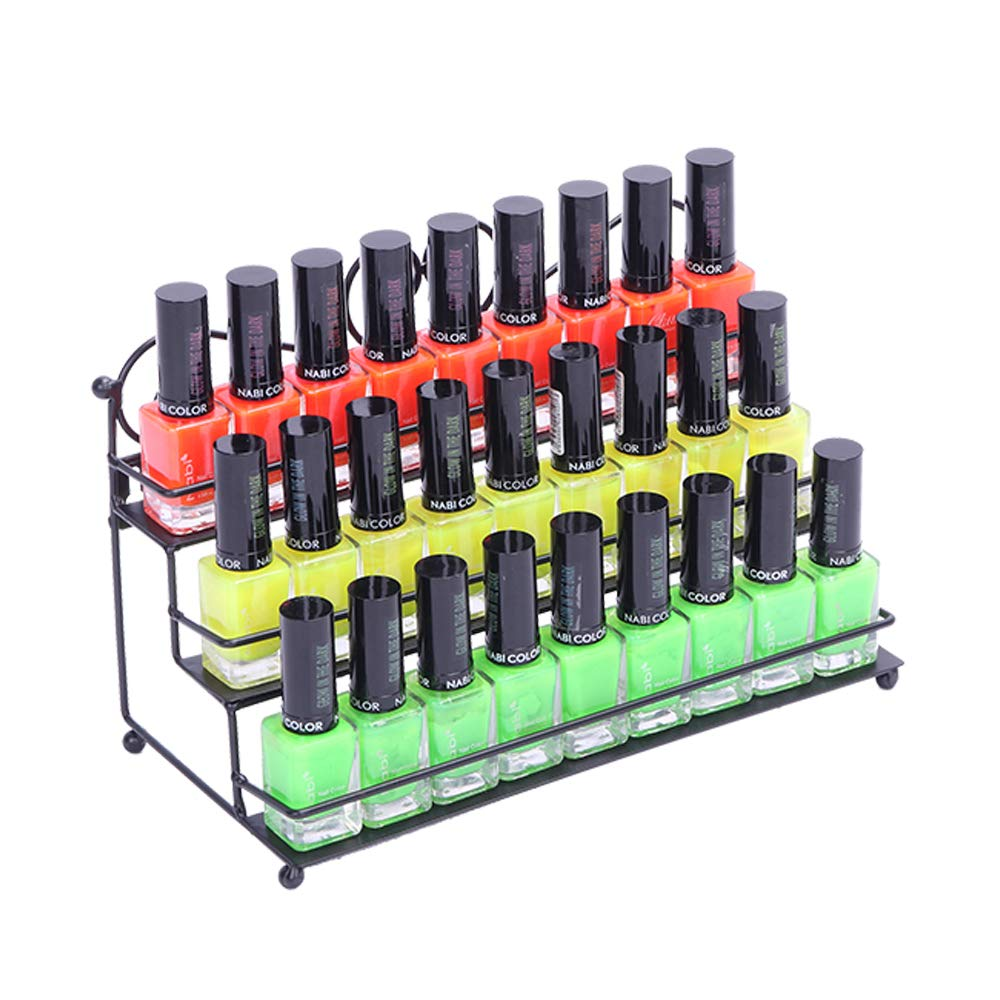 Amazon.com: EllAry 2 Pcs Nail Polish Display Rack 3 Tier ...