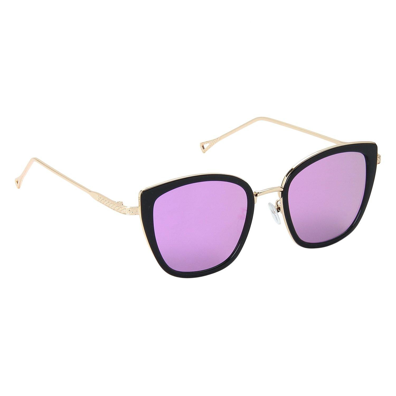 Trendy Hot Pink Reflector Sunglasses