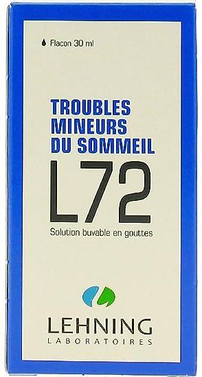 Amazon.com: L72 sueño problemas para niños Homeopática oral ...