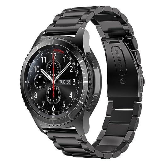 8 opinioni per 22 mm Gear S3 Watch Band, iitee acciaio inossidabile Link cinturino di ricambio