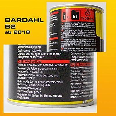 Bardahl 01001 Tratamiento Aceite vehículo +60.000 Kms / B2 Oil ...