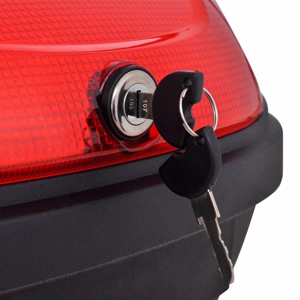 Transporter et fixez Accessoires pour v/éhicules r/éservoir Moto Xinglieu r/éservoir de Queue der Moto pour 2/Casques 72/L Facile /à Utiliser