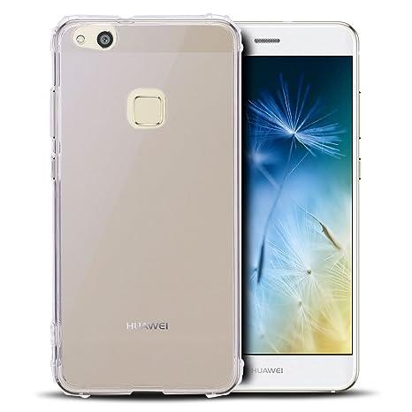Anfire Funda Huawei P10 Lite, Carcasa de Transparente y ...