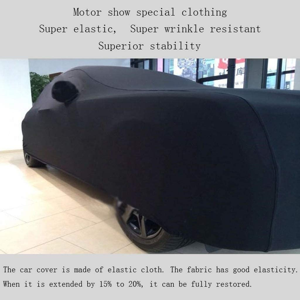 Color, Black Car Cover Car Cover Compatible with Rolls-Royce Dawn Stretch Cloth Car Cover Indoor Exhibition Hall Basement Car Cover Sunscreen Stretch Cloth Car Cover ,Red Outdoor car Cover