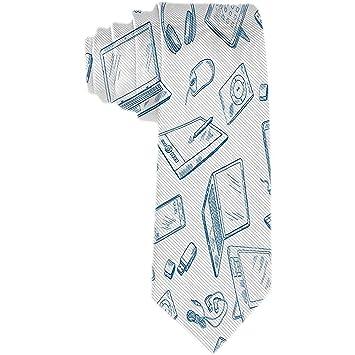 Corbatas para hombres Corbata de raso - Dispositivos informáticos ...