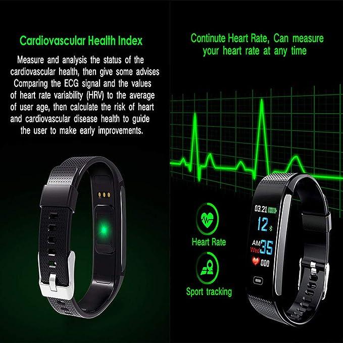 Pulsera Inteligente Recordatorio De Llamada Bluetooth Reloj ...