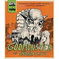 New 4K transfer of GODMONSTER OF INDIAN FLATS on Blu-ray July 10th from MVD Entertainment